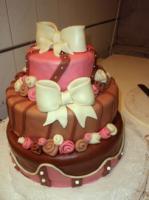 Masnis esküvői torta (Auguszt)