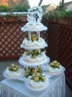 Esküvői torta 1