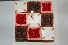 Rubik kocka esküvői torta (Auguszt)